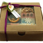 Natural Soapworks Goatsmilk soap gift hamper