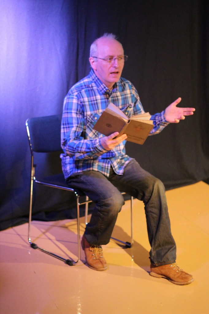 Peter Howe reading some of his work