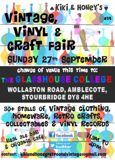 Vintage Vinyl Craft Fair 2015